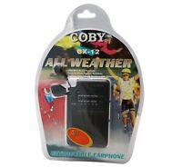 Coby CX-PR30 Black Mini Speaker Portable AM FM 2-Band Mini Radio CXPR30