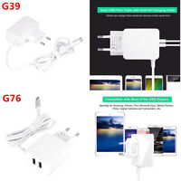 2-Port USB 5V2.5A Wall Charger Power Adapter EU Plug For Android Phone Tablet PC
