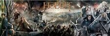 The Hobbit ~ Battle Of The 5 Armies ~ 21x62 Door Poster Huge New/Rolled!