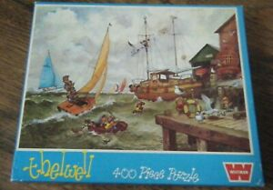 THELWELL WHITMAN 400 PIECE JIGSAW PUZZLE 1974 NORMAN THELWELL 7515
