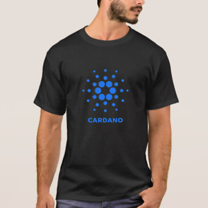 CARDANO ADA Cryptocurrency logo t-shirt