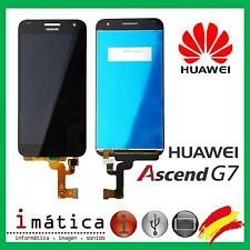 PANTALLA LCD COMPLETA PARA HUAWEI ASCEND G7 TACTIL TOUCH SCREEN NEGRO UL20 L01