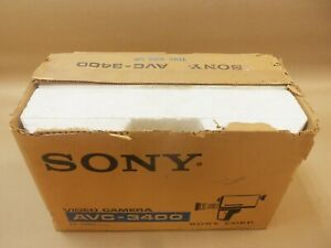 "NEW SONY AVC-3400 12VDC VINTAGE VIDEOCORDER CAMERA MISSING HANDLE ""AK"""