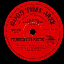 FIREHOUSE FIVE PLUS TWO Lonesome Railroad Blues / Runnin' wild  78rpm  X1466