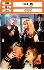 FICHE CINEMA : TRUST ME - Shelly,Donovan,Nelson,Hartley 1991