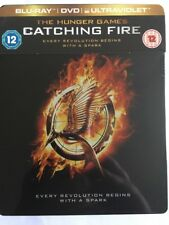 The Hunger Games - Catching Fire (Blu-ray and DVD Combo Steelbook)