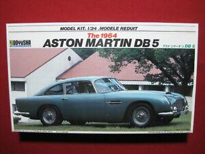 1964 Aston Martin DB5 Doyusha 1:24 James Bond 007 Goldfinger DB 5 Sean Connery