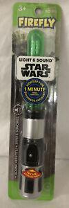 Firefly Disney Star Wars Yoda Lightsaber Lightup Timer Kids Toothbrush Soft