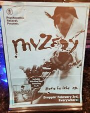 Myzery Psychopathic Records Promotional Flyer Blue insane clown posse twiztid