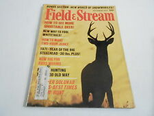 OCT 1971 FIELD AND STREAM vintage fishing hunting magazine