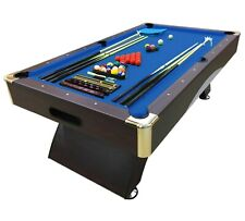 8' Feet Billiard Modern Pool Table Snooker Full Set Accessories 8FT Bellagio Blu
