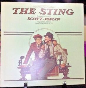 THE STING OST ORIGINAL SOUNDTRACK Album Released 1973 Vinyl/Record  Collection