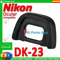 Visor Ocular DK-23 NIKON ★ para D7200 D7100 D300 Eyepiece Cup