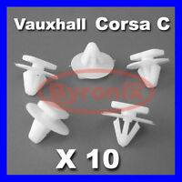 VAUXHALL CORSA C WHEEL ARCH TRIM CLIPS FASTENERS X 10