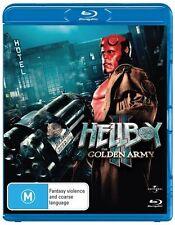 Hellboy II: The Golden Army (Blu-ray, 2010)