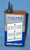 Vintage Tin Can Handy Oiler Ru Glyde Rubber Lubricant