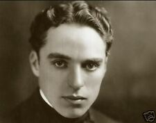 CHARLIE CHAPLIN 8x10 PICTURE GREAT CLOSE-UP FACE PHOTO