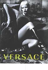 PUBLICITE ADVERTISING  2012  VERSACE haute couture hiver