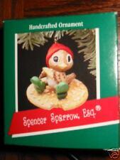Hallmark Spencer Sparrow, Esquire Bird 1989 MIB