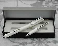 Clearing Out Hero 359 Summer Color Fountain Pen White With the Roller Pen Kits