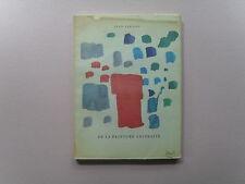 De La Peinture Abstraite by Jean Tardieu - Abstract Art Catalog - Scarce, 1960