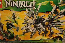 LEGO 9450 Ninjago EPIC DRAGON BATTLE w/ 7 Minifigures Boxed Set
