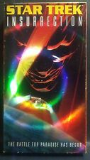VHS Star Trek  Insurrection  The Battle For Paradise Has Begun