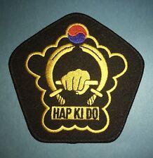 Vintage 1980's Hap Ki Do Hkd Tkd Martial Arts Mma Uniform Patch Crest 655
