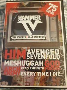 METAL HAMMER DVD - HAMMER TV PROMO. HIM, AVENGED SEVENFOLD, CRADLE OF FILTH