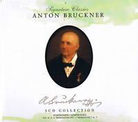 Signature Classics ANTON BRUCKNER  5CD-Box Collection NEU & OVP ZYX Music 2008