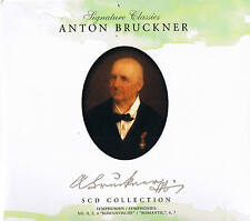 Signature Classics ANTON BRUCKNER  5CD-Box Collection NEU & OVP ZYX Music 2008
