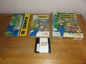 """Mario is Missing  IBM PC 3.5 """"  DISKS RETRO PC GAME"""