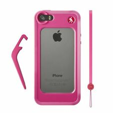 Manfrotto Pink Bumper for iPhone 5/5S + kickstand + hand-wrist strap