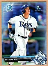 BRENDAN MCKAY - 2017 BOWMAN CHROME DRAFT REFRACTOR RC