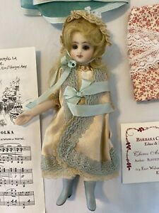 """5.5"""" bisque French Fashion Doll"""