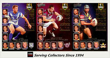 2011 Select NRL Strike Cards Team Of The Year Full Set (18)
