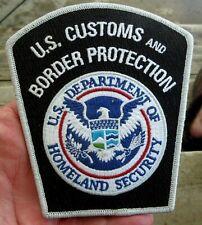 VINTAGE OBSOLETE U.S. CUSTOMS and BORDER PROTECTION POLICE SHOULDER PATCH