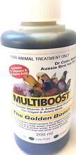 Multiboost - the golden boost- Caged & Aviary birds- vitamin Amino Acids bird Su