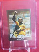Pele Brazil World Cup 2018 Gold Swiss Panini Sticker