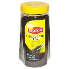 Lipton Yellow Label Tea  475g Loose Tea x 2 jars  Supplied    Free UK Delivery