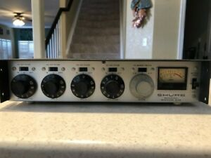 Shure Series M67 Professional Microphone Mixer, 4-Chanel Vintage