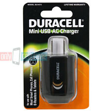 New Duracell USB Mini AC Charger Adapter for Smartphone E-Reader & Tablets