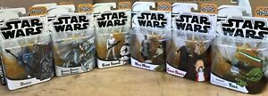 Star Wars The Clone Wars Cartoon Network Figures 3.75 Inch New Sealed