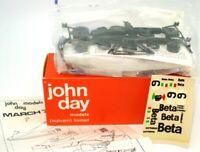 JOHN DAY NO. 243 1/43 WHITE METAL KIT MARCH BETA F1 RACE CAR  -  NEW - RARE!