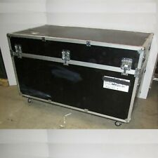 Equipment Trade Show Booth Display Road Case Trunk 72x38x44 On Wheels Custom