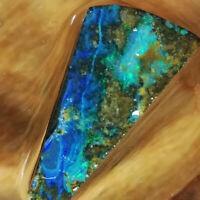Gorgeous 30.85CT +VIDEO Australia Boulder Opal ROUGH