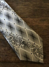 STEVEN LAND Fashion Colors & Design Necktie & Hanky 100% Silk