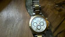 Rolex Daytona Pearl/Diamond Two Tone Gold/Stainless