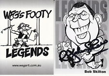 WEG - Legends 'Bob Skilton Signature' Set AFL/VFL Collector Cards (11) #NEW