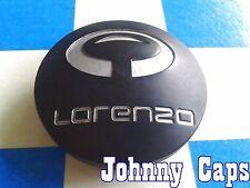 LORENZO Wheels [49] BLACK Center Caps # WL032K65 Custom Wheel Center Hub Cap (1)
